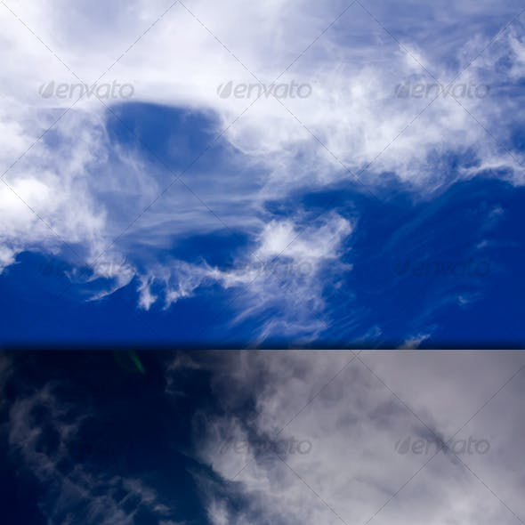 Cirrus Clouds On Good Weather Sky - Pack