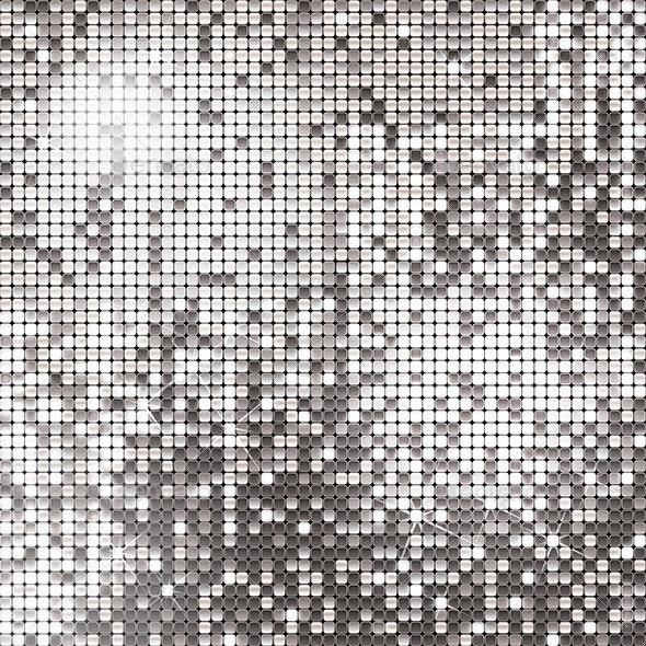 Silver Background  - Backgrounds Decorative
