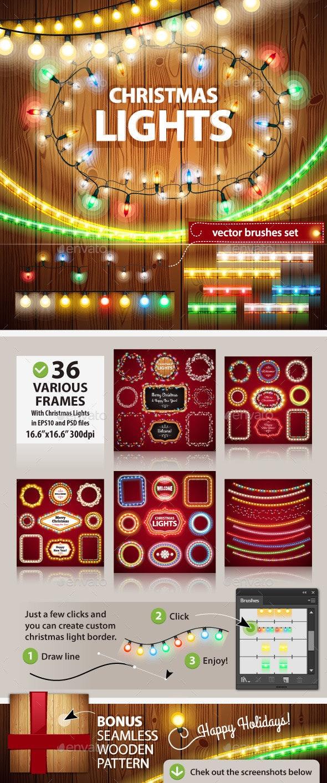 Christmas Lights Decorations Set - Christmas Seasons/Holidays