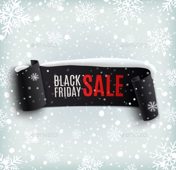 Black Friday Sale Background   - Retail Commercial / Shopping