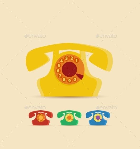 Retro Phone - Retro Technology