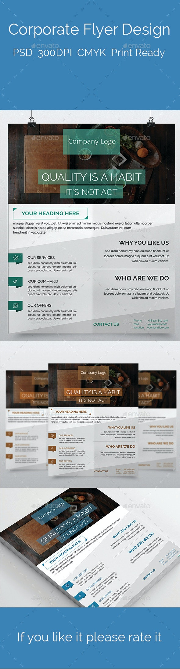 Corporate Flyer Design - Flyers Print Templates