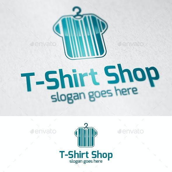 Tshirt Shop Logo