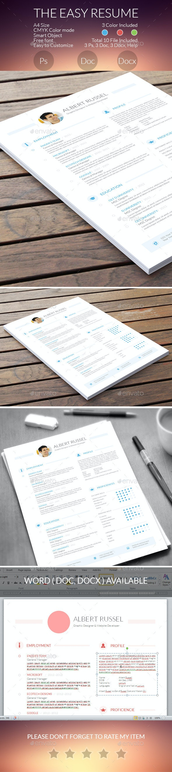 The EASY Resume - Resumes Stationery