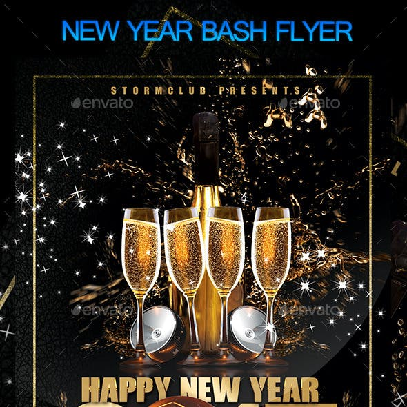 New Year Bash Flyer