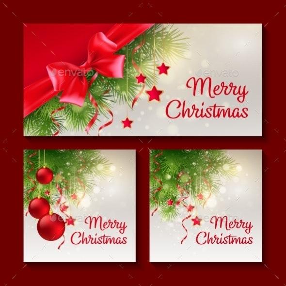 Set of Christmas Templates - Christmas Seasons/Holidays