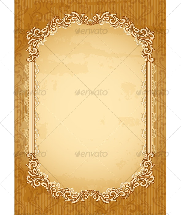 Old-fashioned Background - Backgrounds Decorative