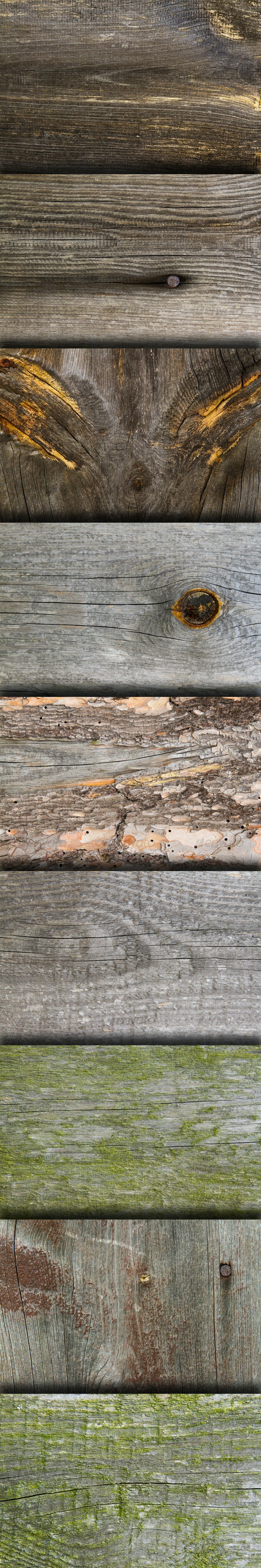 Grunge Old Wood Board Texture - Pack - Wood Textures