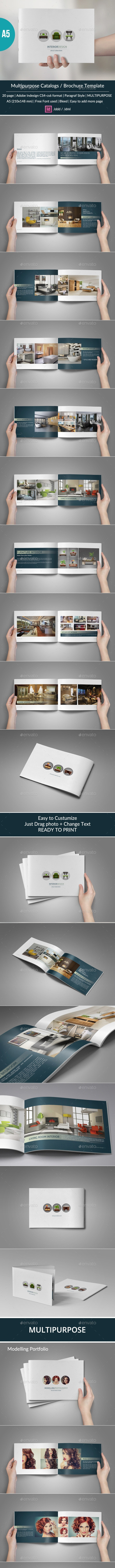 Multipurpose Catalogs / Brochure - Catalogs Brochures