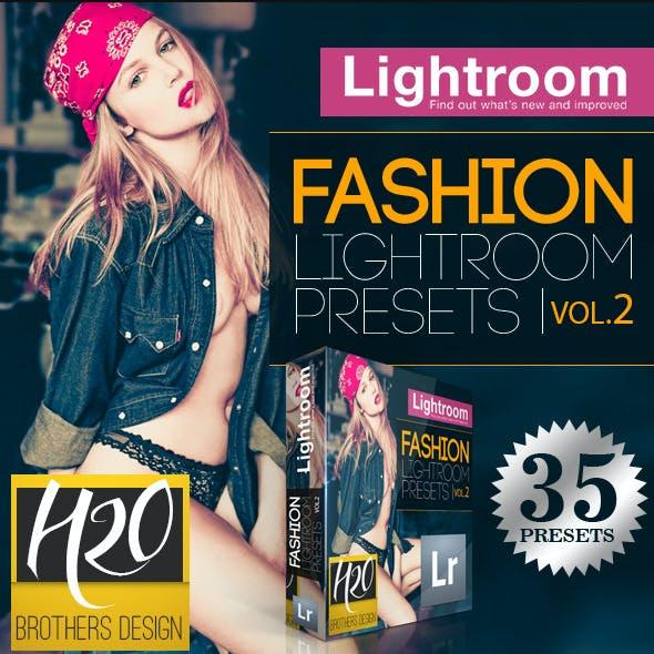 35 Fashion Lightroom Presets Vol. 2