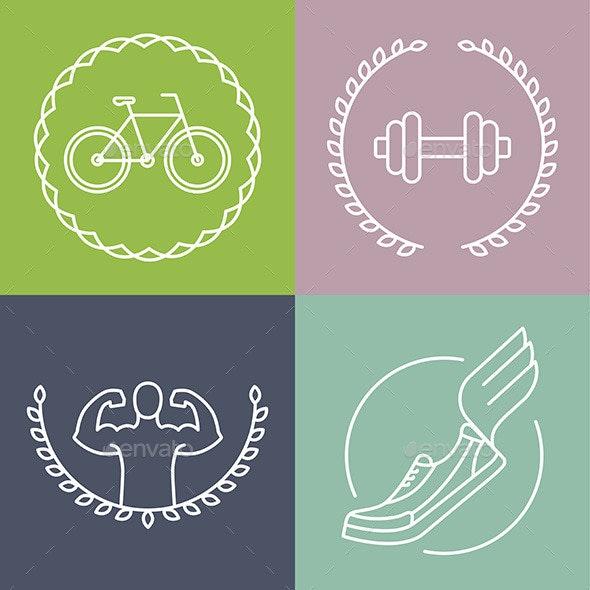 Vector Sport Emblem - Conceptual Vectors