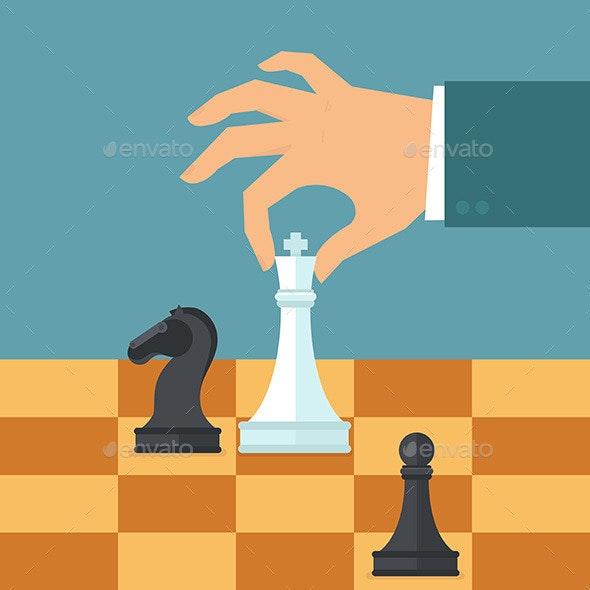 Business Strategy Concept - Business Conceptual
