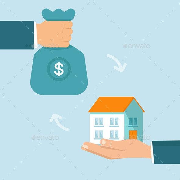 Real Estate Concept - Business Conceptual