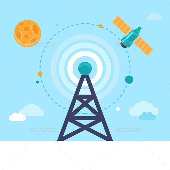 Antenna and Satellite