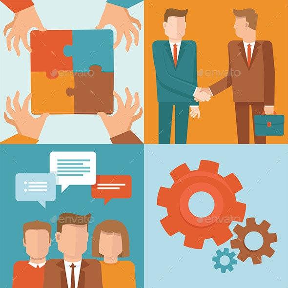 Teamwork Concept - Business Conceptual