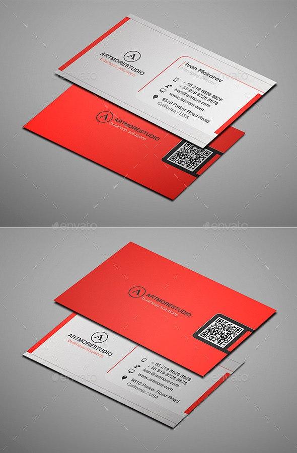 Simple Business Card Vol. XVIII - Corporate Business Cards