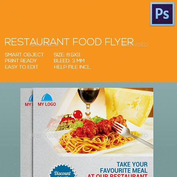 Restaurant/Fast Food Flyer