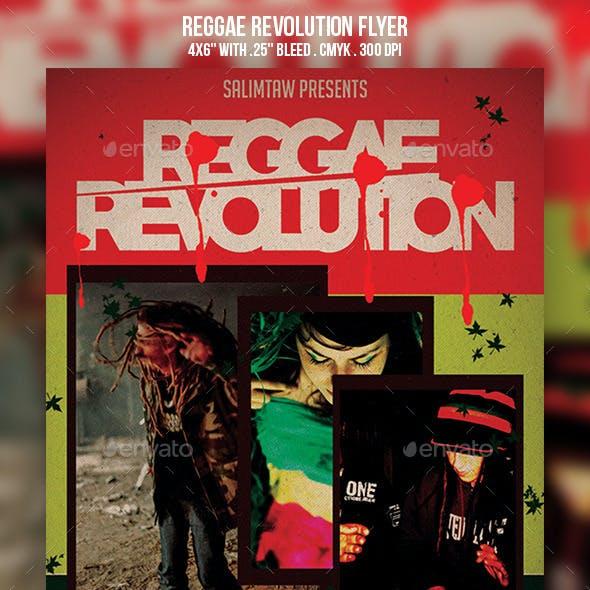 Reggae Revolution Flyer
