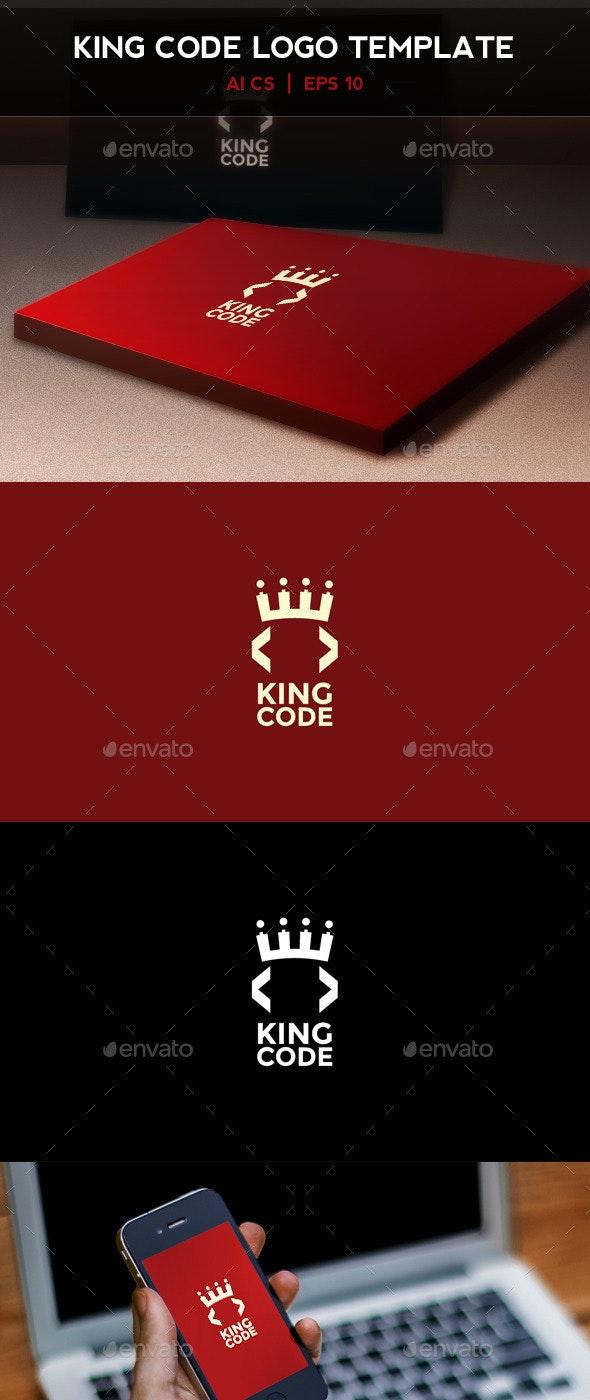 King Code Logo - Symbols Logo Templates