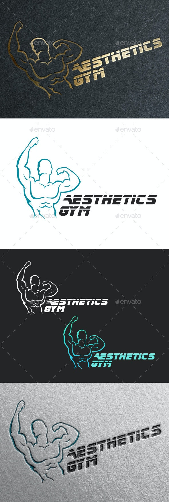 Fitness Gym Logo - Humans Logo Templates