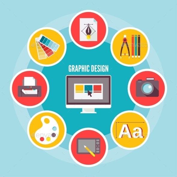 Graphic Design Icons - Miscellaneous Vectors