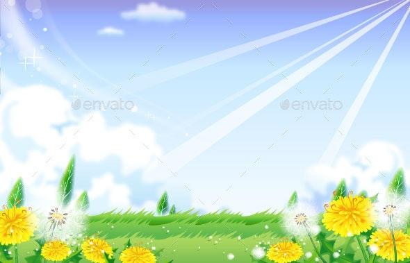 Grassland - Backgrounds Decorative
