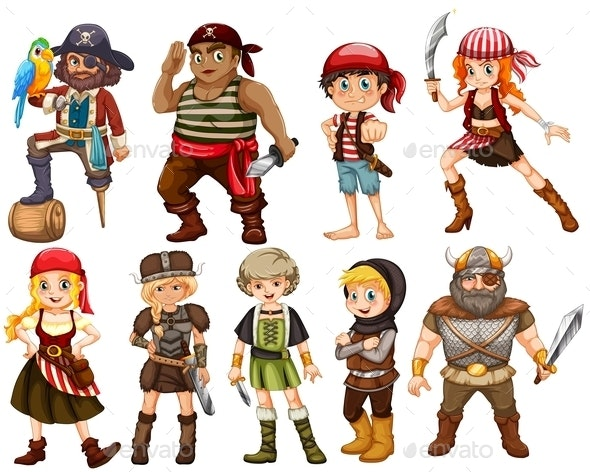 Warriors - People Characters