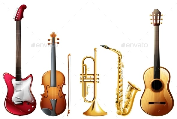 Music Set - Man-made Objects Objects