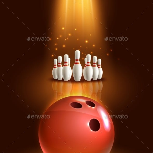 Bowling Game Poster