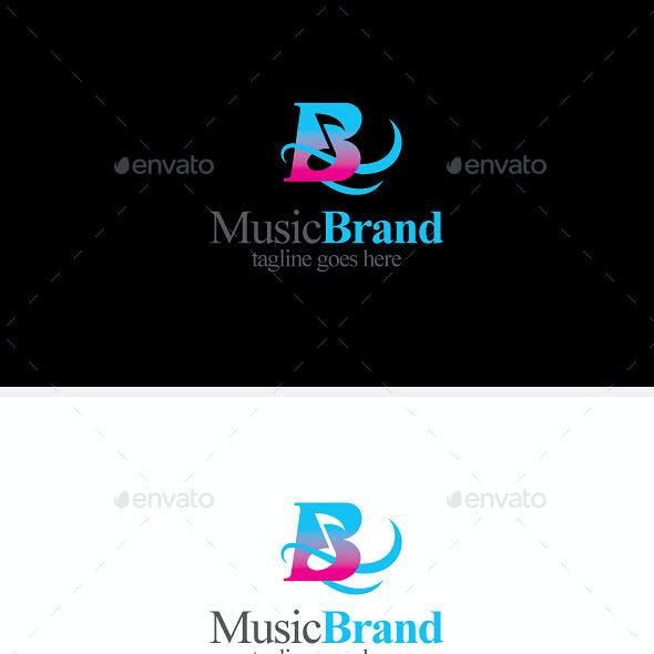 Note Audio& Music Brand Logo