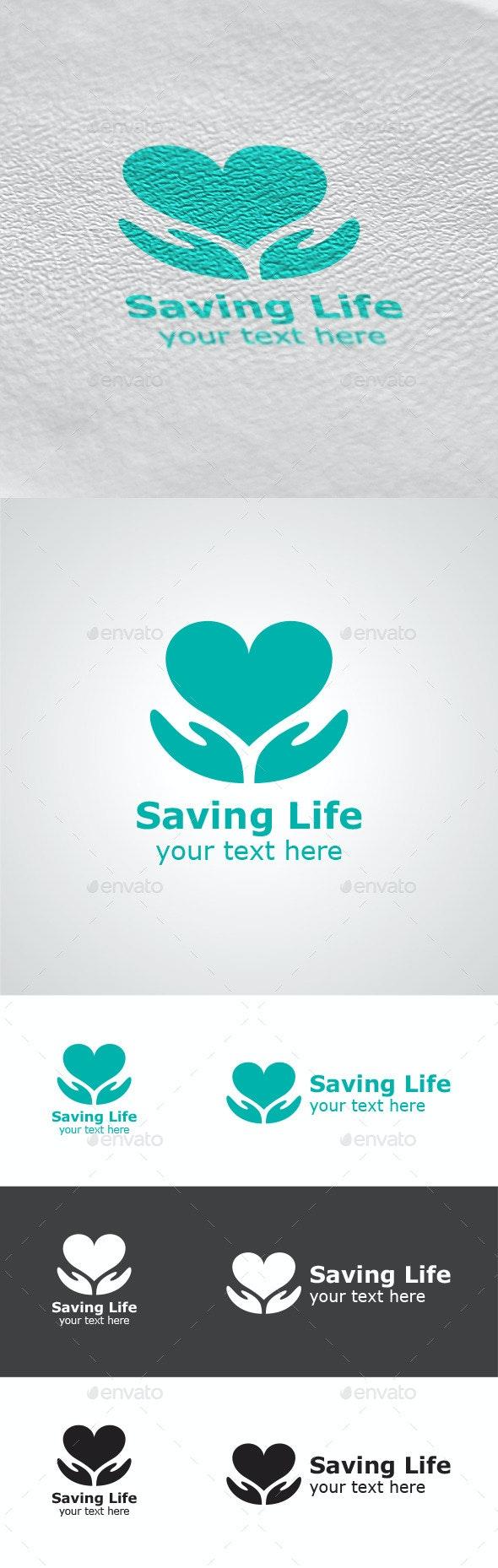 Saving Life Logo - Symbols Logo Templates