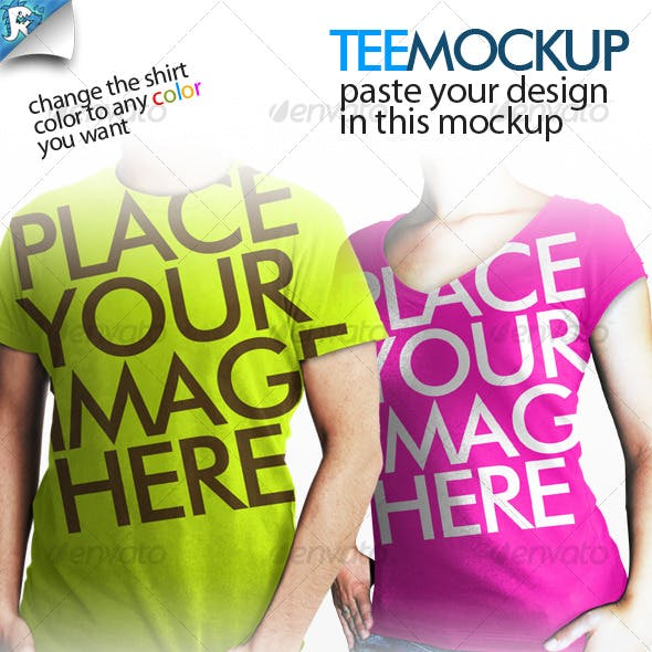 Tee Mockup - Your clothing