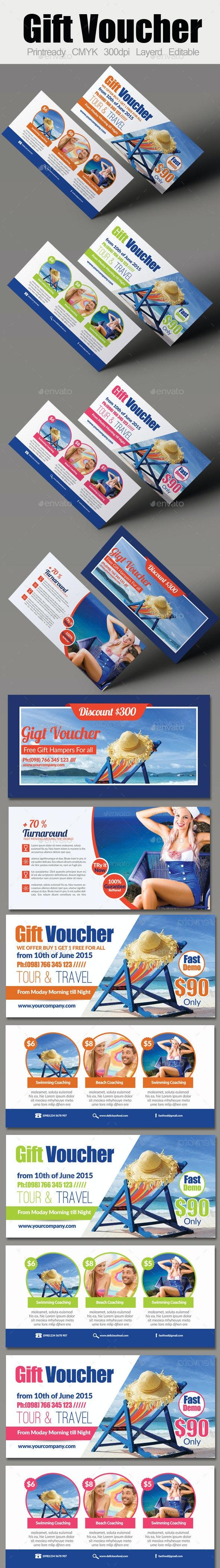 Tour Travel Gift Voucher Bundle