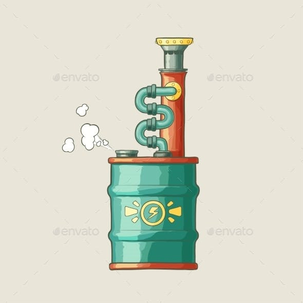 Steampunk Styled Boiler