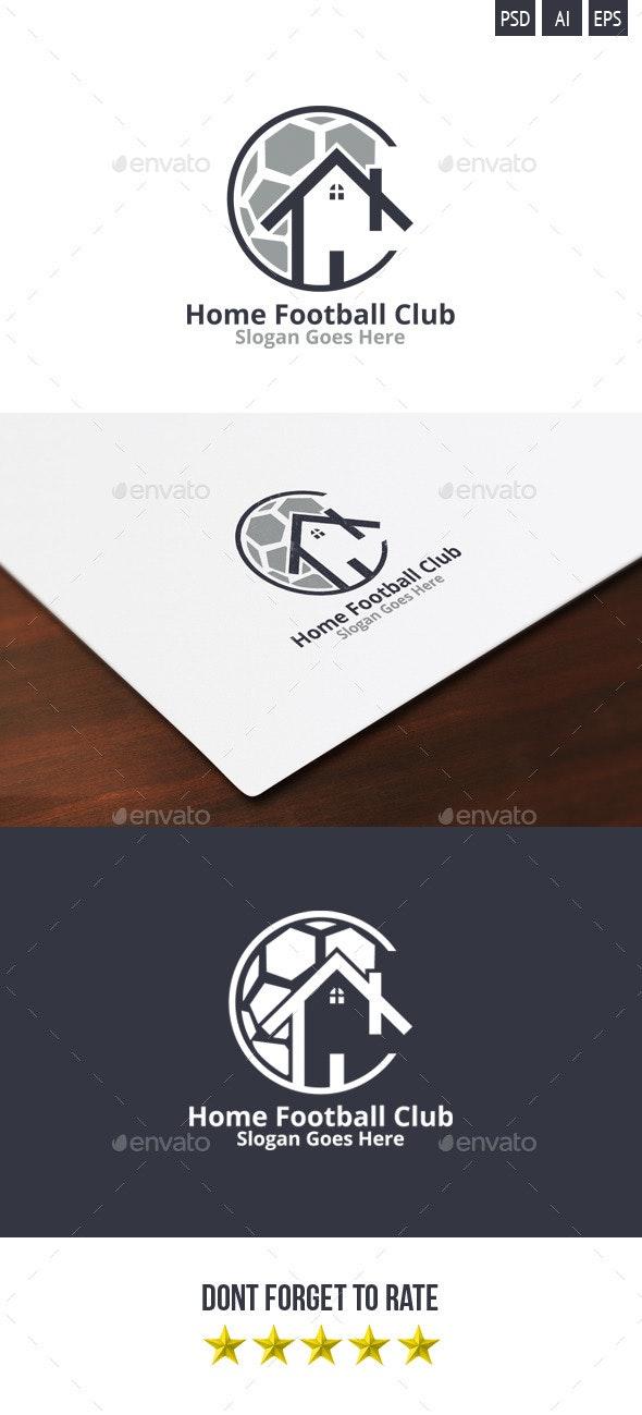 Home Football Club Logo - Objects Logo Templates
