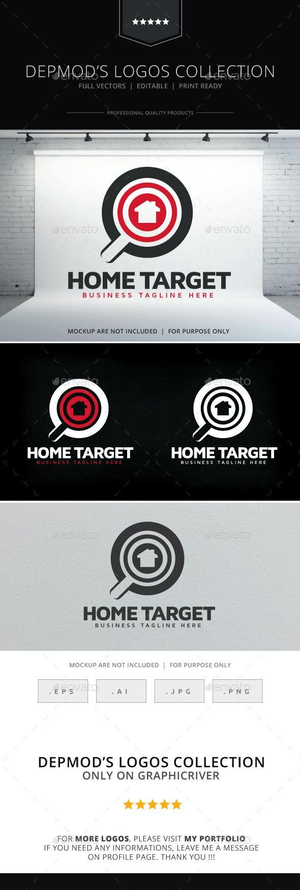 Home Target Logo - Symbols Logo Templates