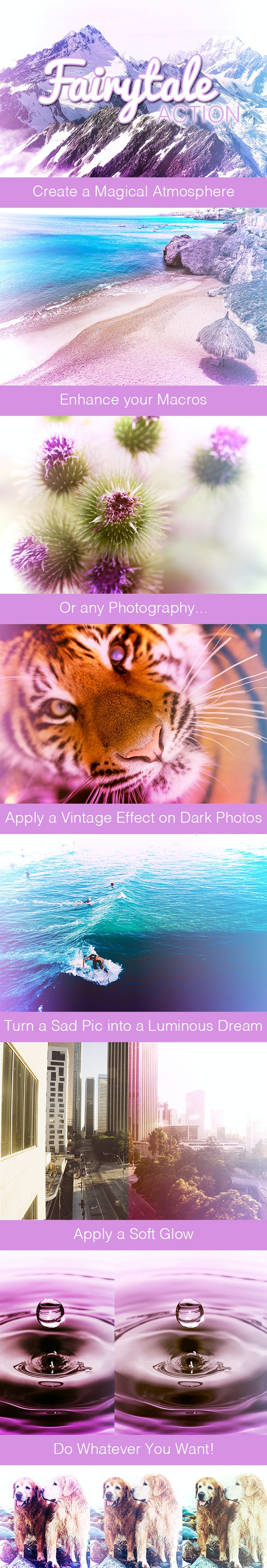 Fairytale Action - Photo Effects Actions