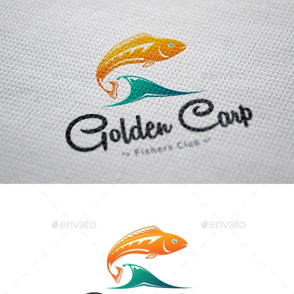 Golden Carp Logo