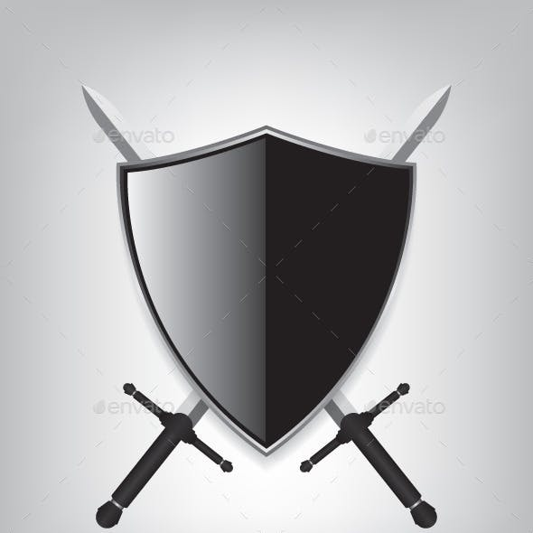 Sword Shield Graphics, Designs & Templates from GraphicRiver