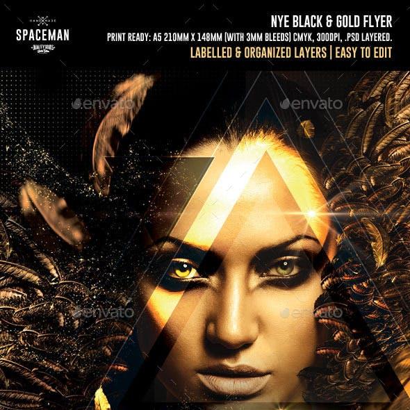 NYE Black & Gold