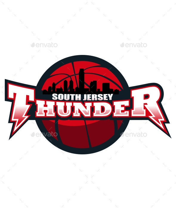 South Jersey Thunder - Objects Vectors