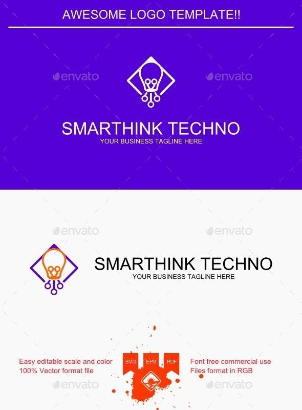 Smarthink Techno Logo - Objects Logo Templates