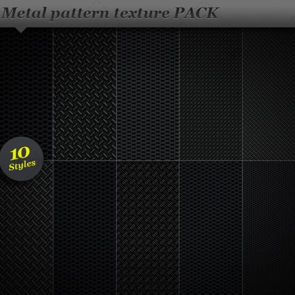 Metal pattern effect background texture