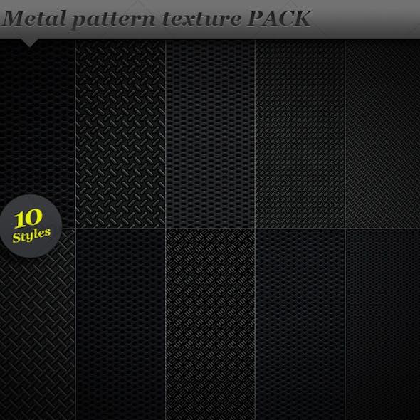 Metal pattern effect background texture
