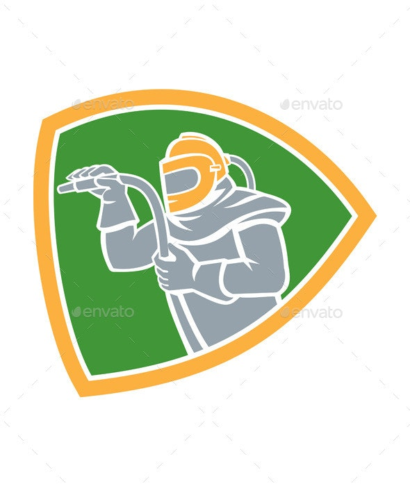 Sandblaster Shield  - People Characters
