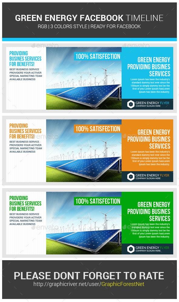 Green Energy Facebook Timeline Cover - Facebook Timeline Covers Social Media