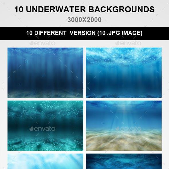 10 Underwater Backgrounds