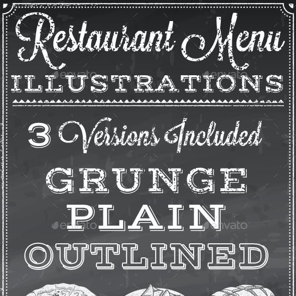 Vector Food Illustrations