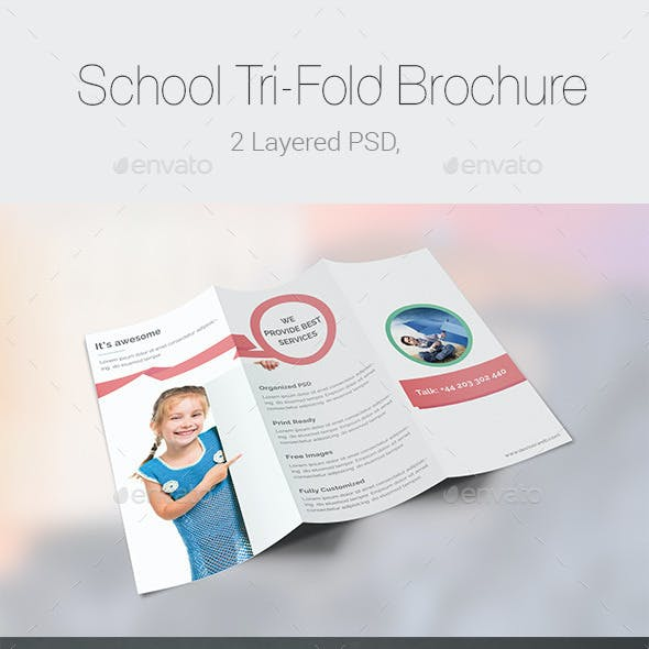 School/Educational Tri-Fold Brochure Templates