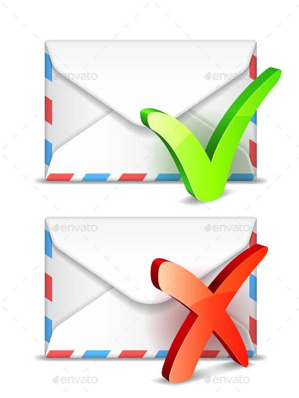 E-mail Concept - Communications Technology